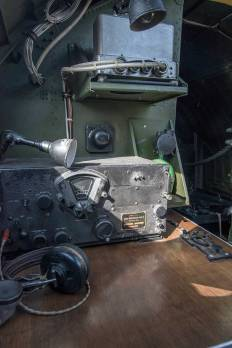 Radio desk B-17 Flying Fortress