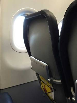Spirit Airlines cheap seat