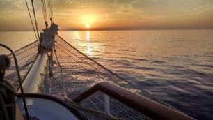 Star Flyer Sunrise-Sunset Series 1. Photograph, Bill Palmer.