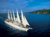 Wind Surf cruise ship, windsurf sailing ship