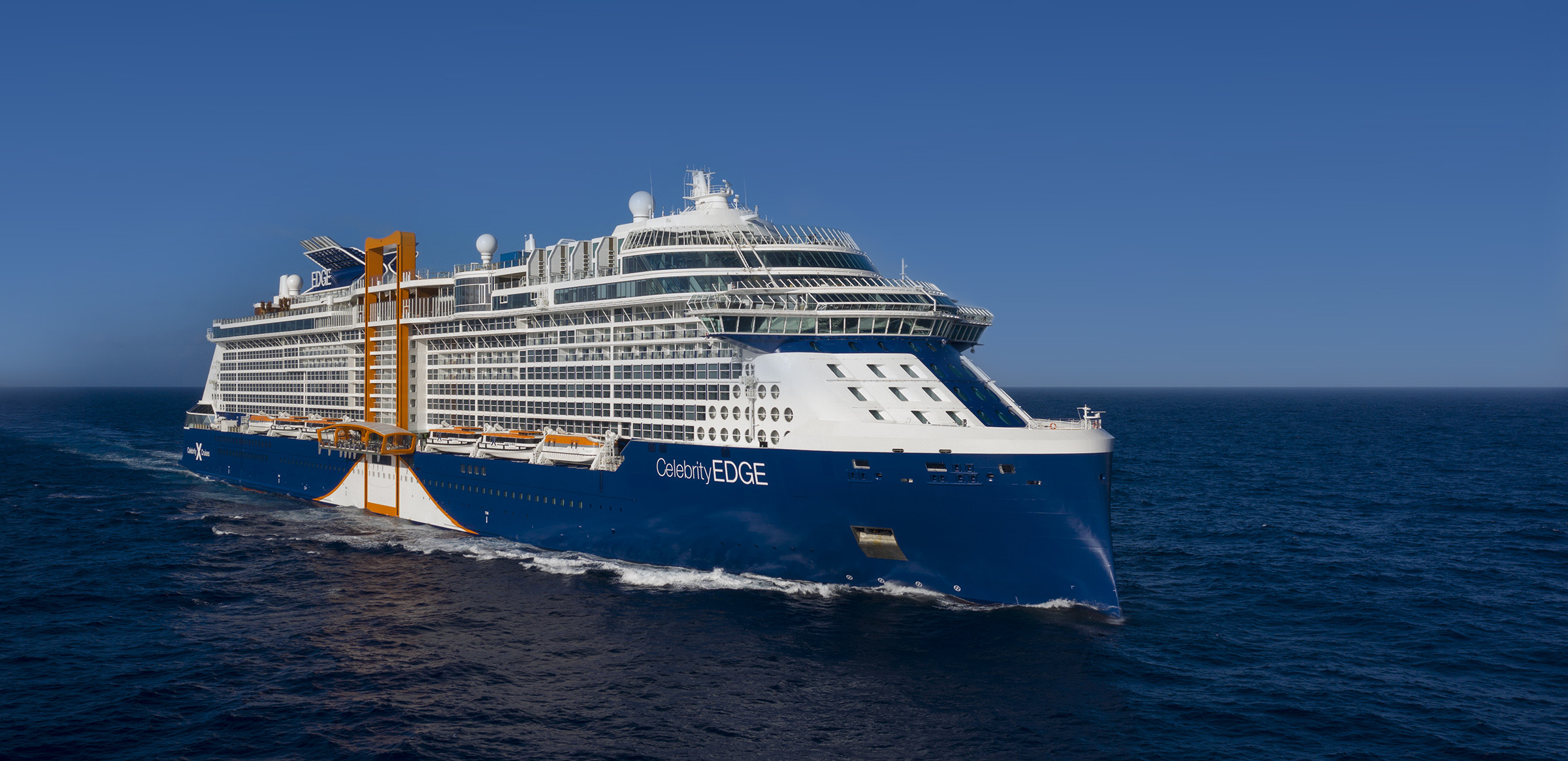 Journal: Headed to the New Celebrity Edge for a New Year's Cruise. I Think . . .