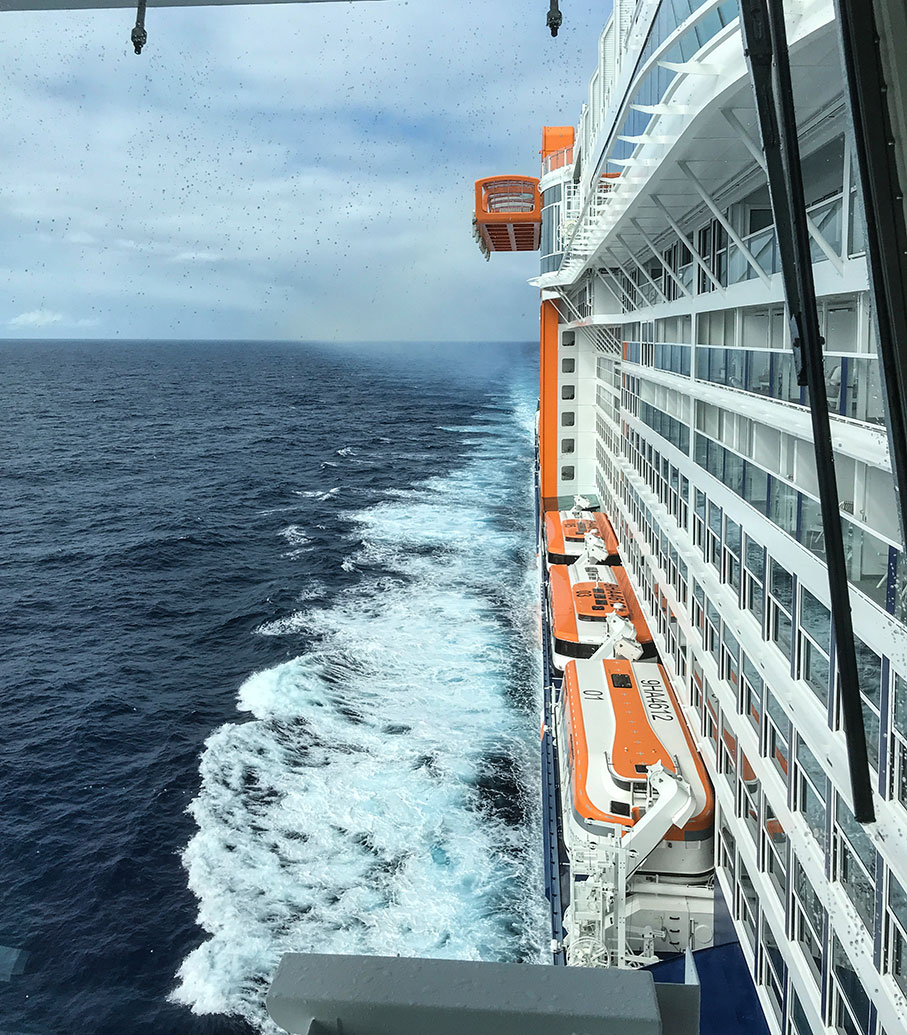 Journal: Reporting from the New Celebrity Edge Cruise Ship