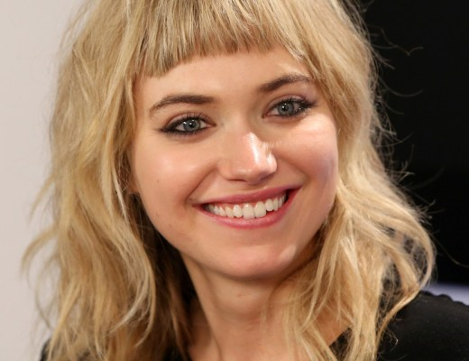 Imogen Poots Shoulder Length Hairstyles Medium YjHTILHjjDUx - Gorgie Porgie