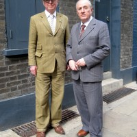 Gilbert and George...Fournier Street, London