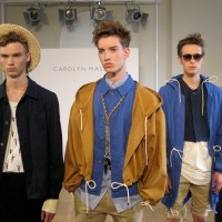 London Fashion Week, Mens Day...Carolyn Massey Presentation