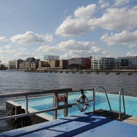 Chilling...Badeschiff, Berlin