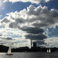 The Harbour, The Elbphilharmonie, The Alster and the Sky...Hamburg, Germany