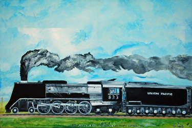 Union Pacific by Jules Burgevin