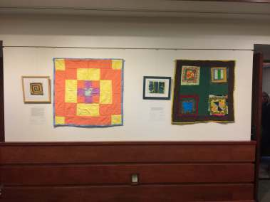 4 Quilts and Prints Exhibit Wall 3