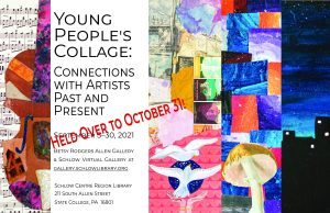 Young People's Collage show