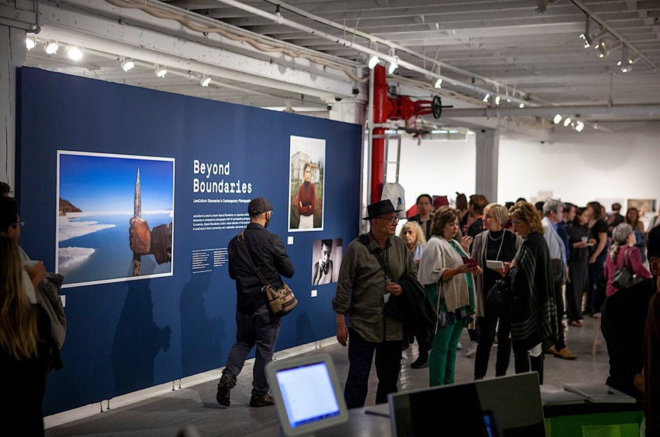 Inauguration of the exhibition Lensculture NYC