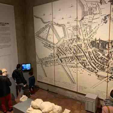 Plan de la ville Château d'Annecy
