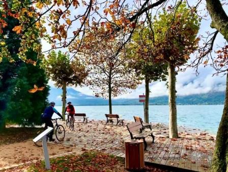 Galerie photo tour du lac d'Annecy
