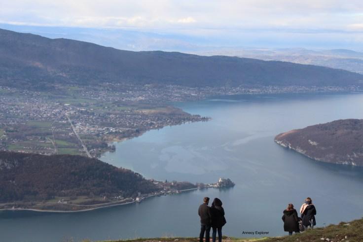 Vu sur le Lac d'Annecy