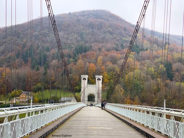 Pont de la caille Annecy explorer blog