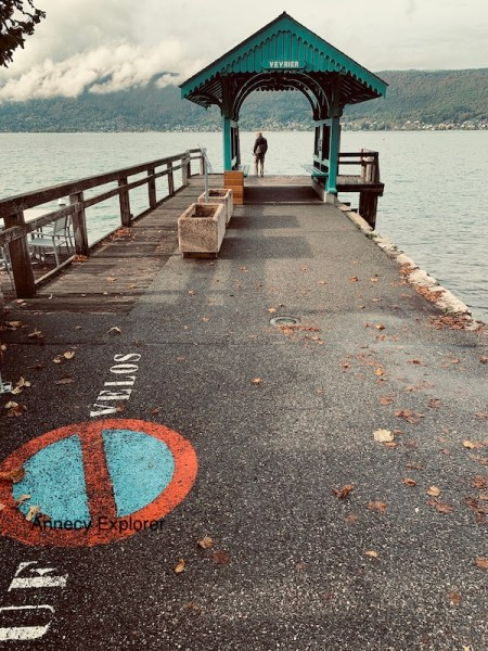Embarcadère Veyrier du lac Annecy