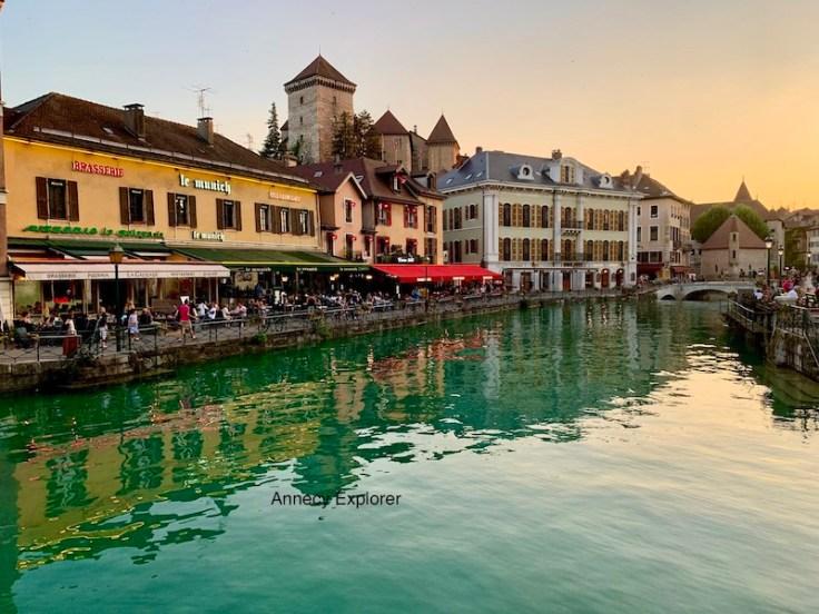Où Manger en vieille ville à Annecy