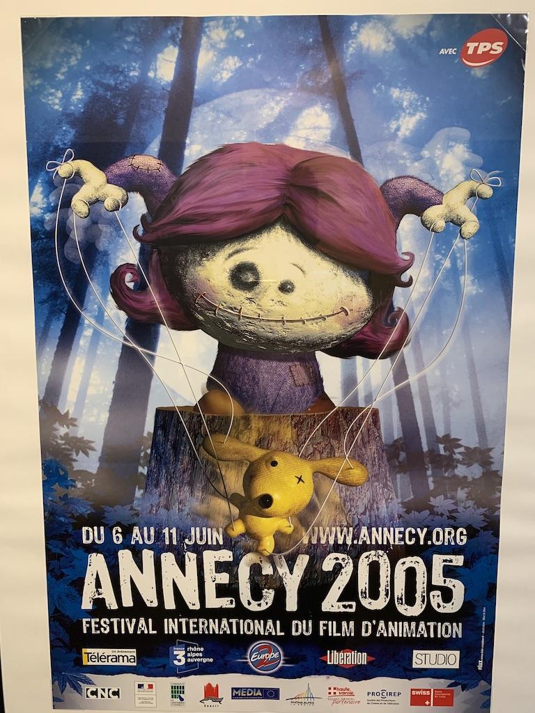 Le musée du film d'animation à Annecy