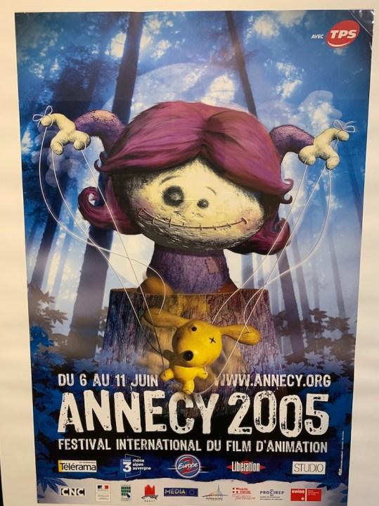 Le musée du film d'animation Annecy