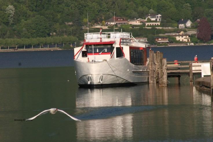 Prendre le bateau à Annecy