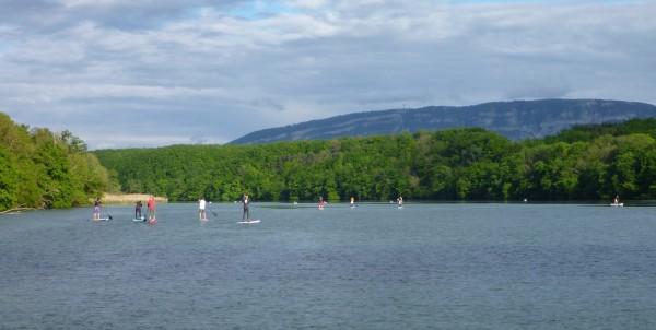 Sortie stand up paddle Rhône