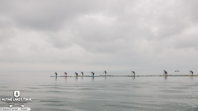 Alpine lakes tour co-organisé par Annecy Stand Up Paddle Club