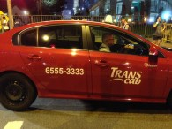 Took this cab and saved the number too..