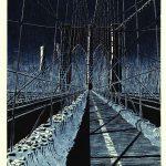 Brooklyn Bridge: Night Ice