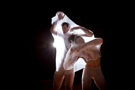 Marijoe Foucher & Keven Lee | Viscosité 2017 © Mathieu Doyon