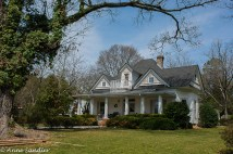 The first of some of the beautiful southern homes.