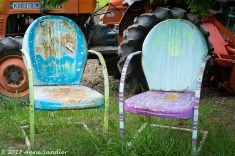 When newly painted, these were probably beautiful.