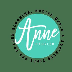 Logo Anne Häusler türkis