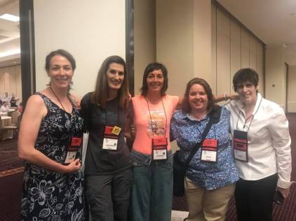 Lesfic Marketing Alliance Members at the GCLS Con 2018