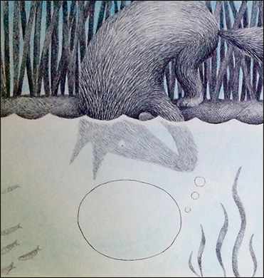 Fox Underwater, Anne Hunter, Illustrator