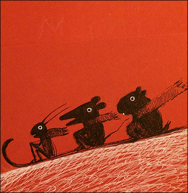Animals on Toboggan, Anne Hunter, Illustrator
