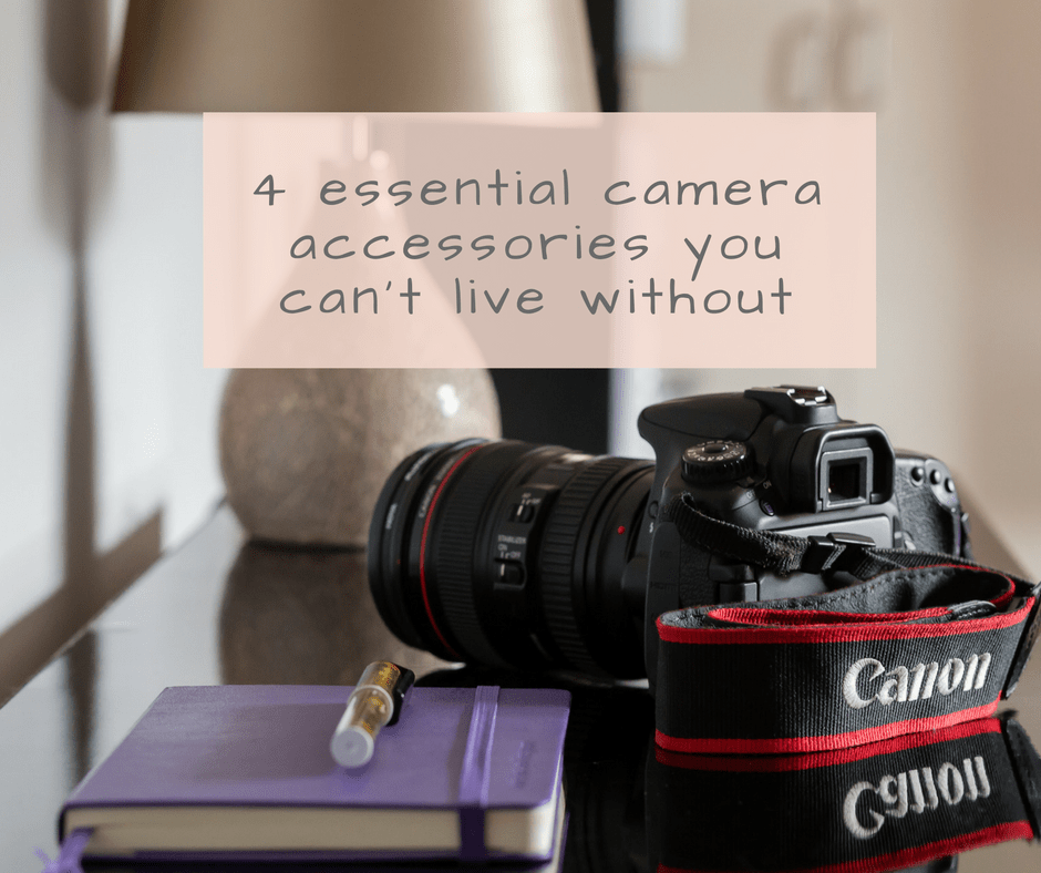 4 essential camera accessories blog