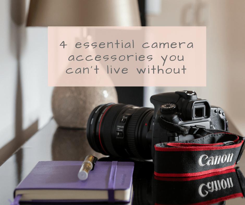 4 essential camera accessories blog