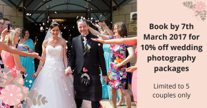 weddings photography offer Dundee Angus Perth