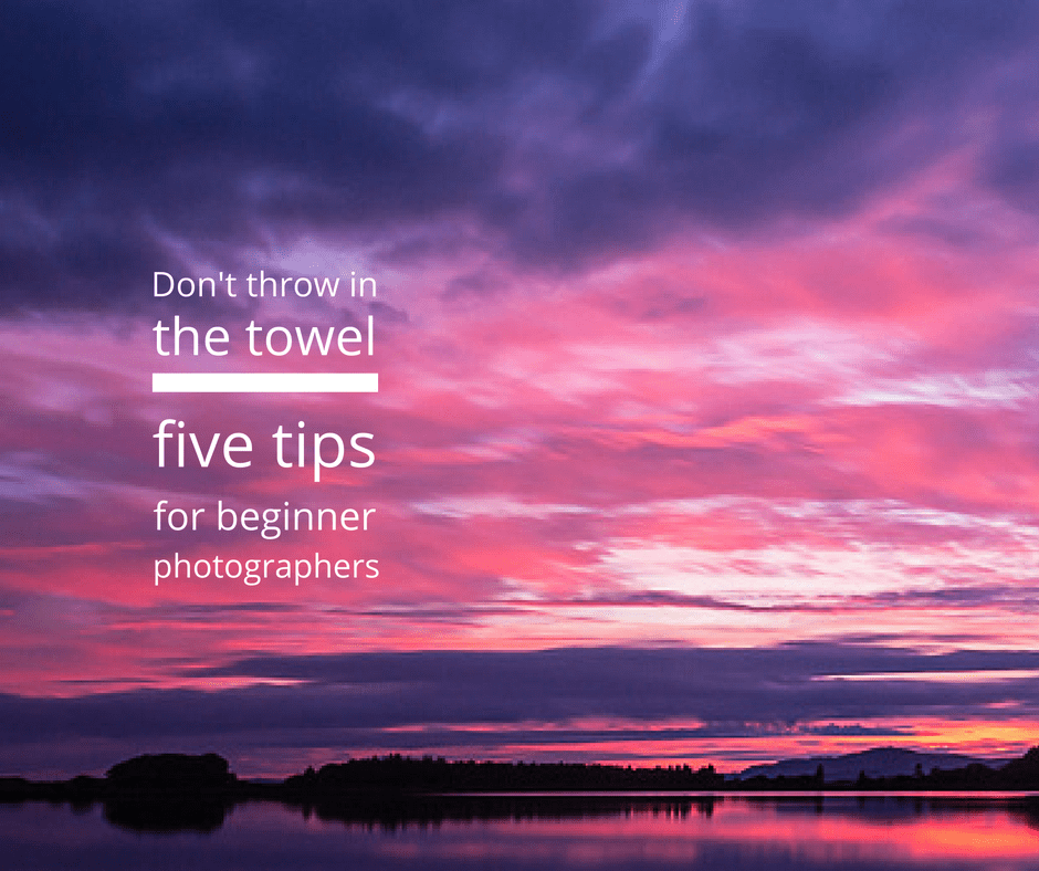 5 top photography tips for beginners