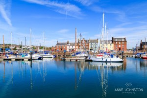 Arbroath harbour boats marina