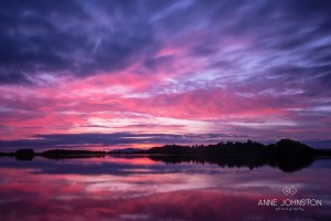 Monikie Country Park sunset