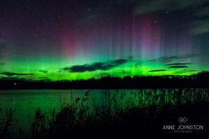 Northern Lights Aurora Borealis Balgavies Loch Forfar Angus