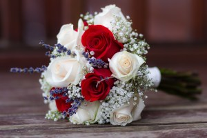 Bouquet of flowers by Robbie and Nicoll, Forfar