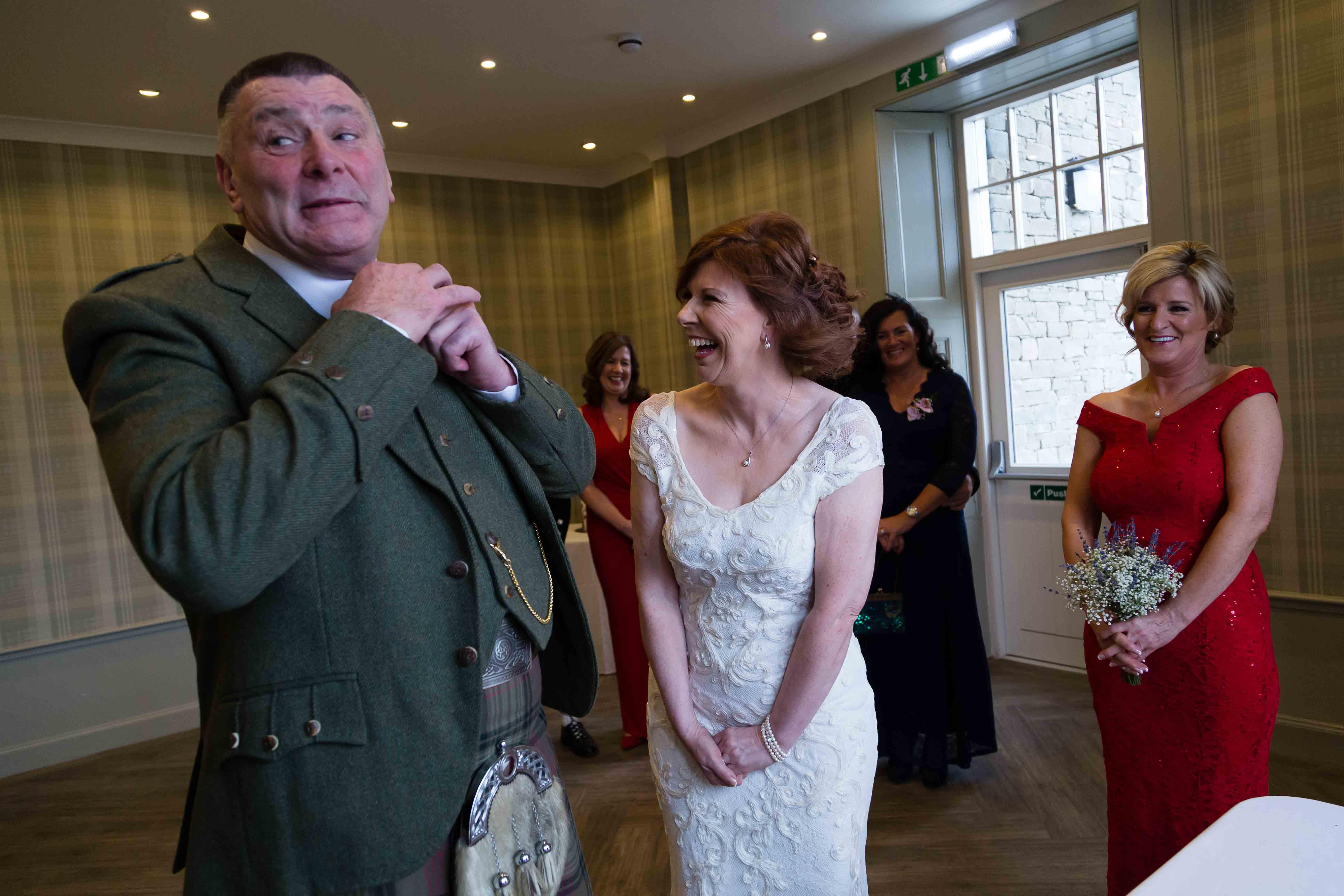 weddings photography bride groom Glen Clova Angus