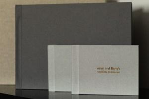 Fine art wedding albums