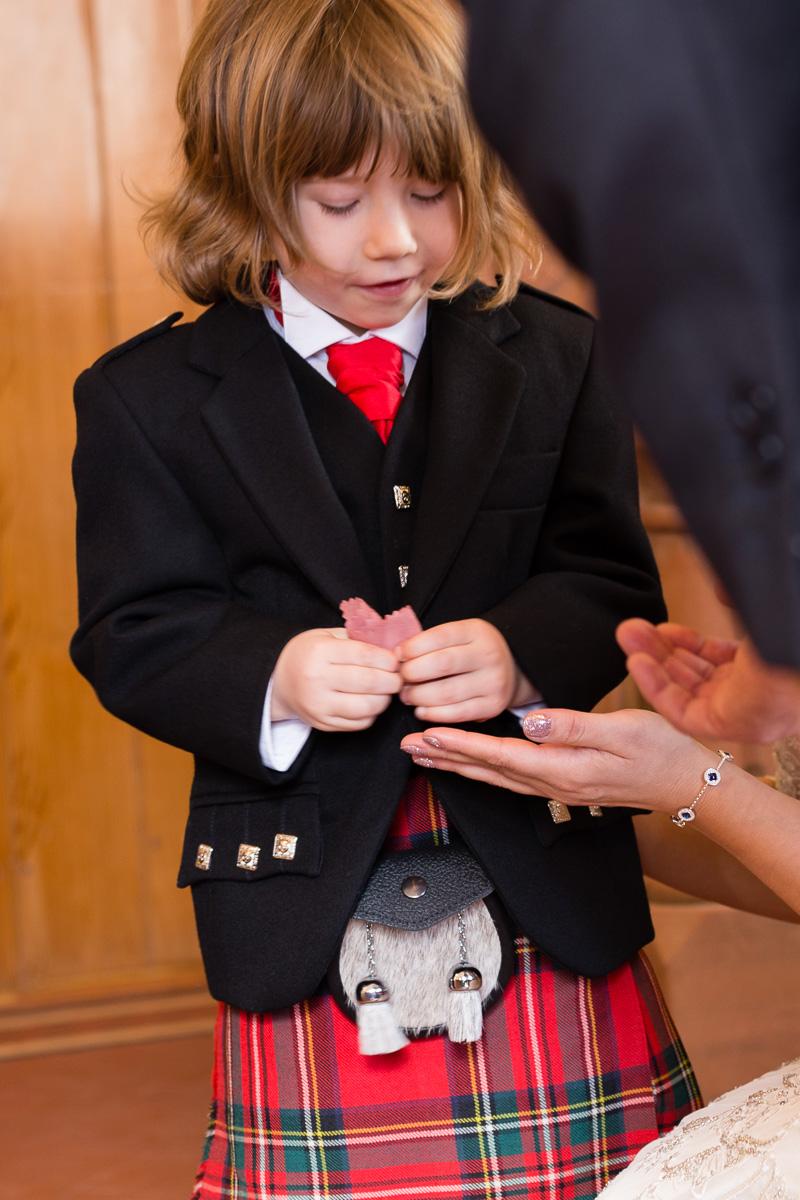 Wedding ring Clova Kirk Angus