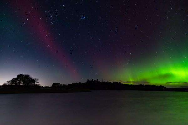 Northern Lights over Monikie