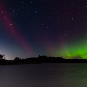 Northern Lights over Monikie