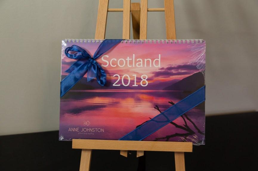 Win a 2018 Scotland Calendar