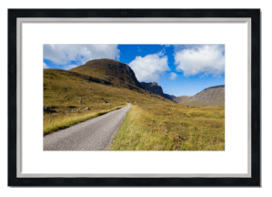 Fine art framed print of Bealach na Ba